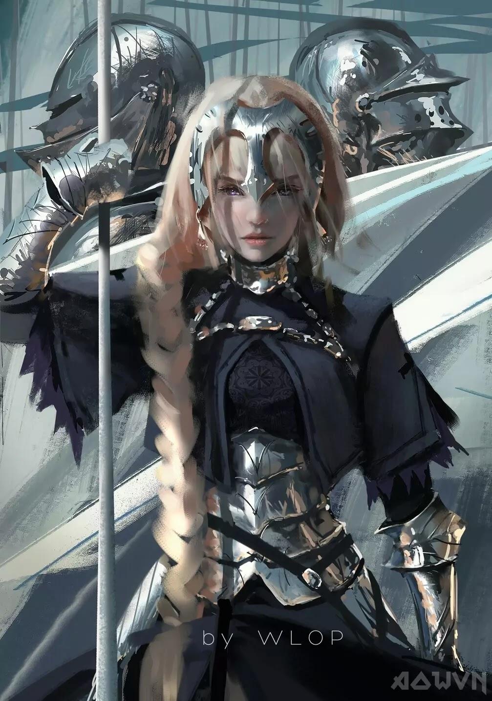 39 AowVN.org m - [ Hình Nền ] Anime Cực Đẹp by Wlop | Wallpaper Premium / Update