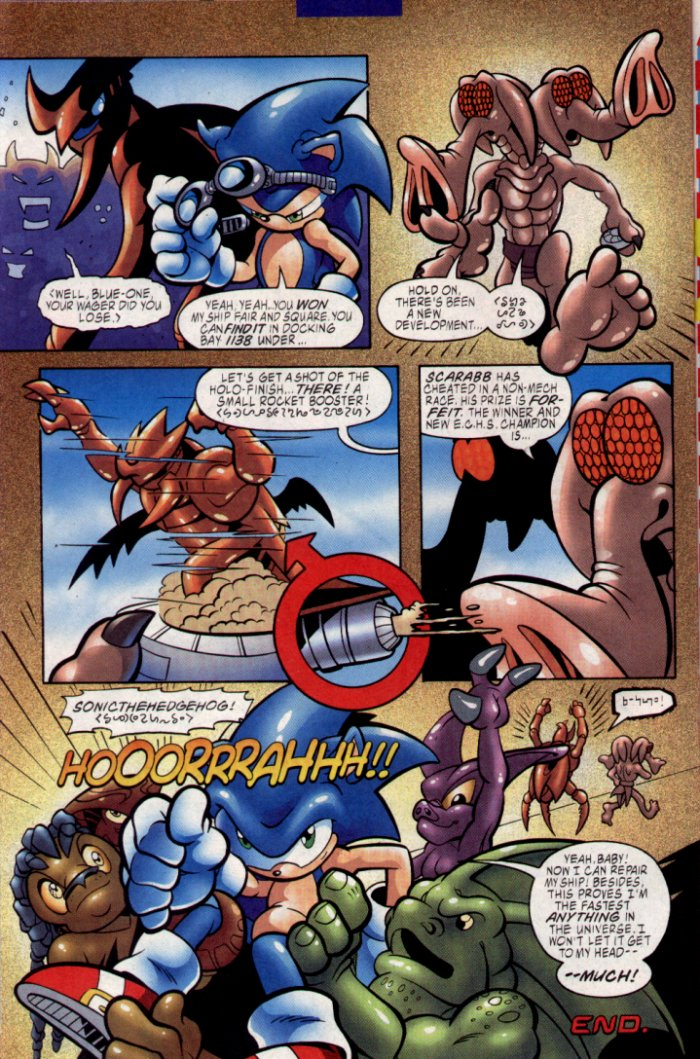 Read online Sonic The Hedgehog comic -  Issue #129 - 7