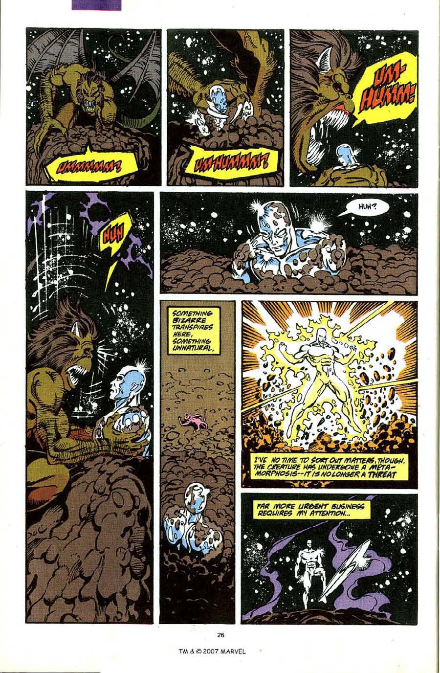 Read online Silver Surfer (1987) comic -  Issue #49 - 28