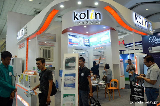 Kolin Air Conditioner Tradeshow Display