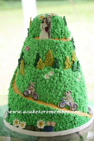 Mountain Biking Cake Or Know Your Limits