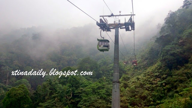 Fog During Cable Car Ride