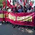 Ribuan Massa Gruduk Kantor PDIP, Minta Mega Tolak Ahok