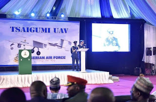 Induction ceremony for the Tsaigumi UAV