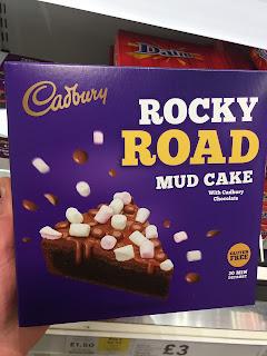 Cadbury Rocky Road Mud Cake