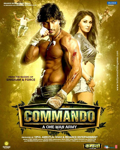 Commando-A One Man Army (2013) Movie Poster