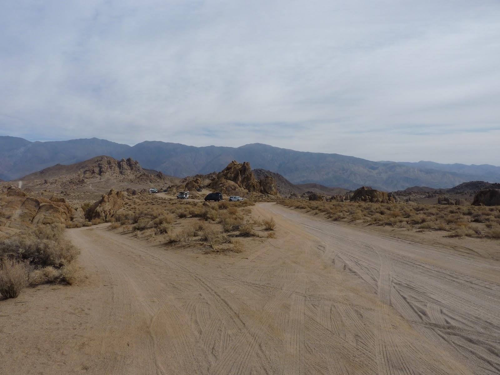 Allabama Hills, Californie