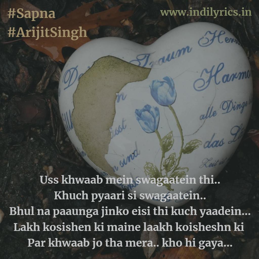 Sapna Jo Tha Mera Kho Hi Gaya Arijit Singh Parmanu The Story Of