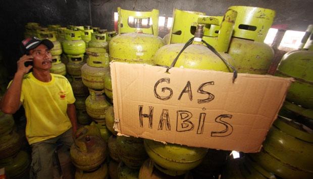 Oprasi Pasar Tabung Gas LPG 3 Kg Tanpa Sosialisasi