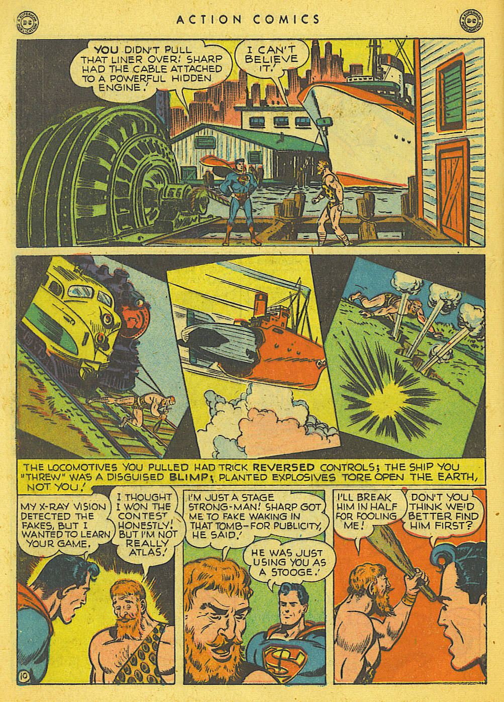 Action Comics (1938) 121 Page 10