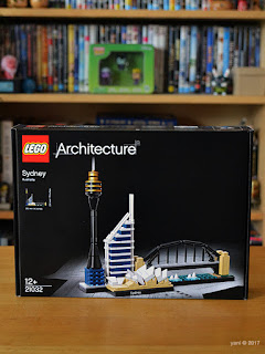 lego architecture sydney - the box