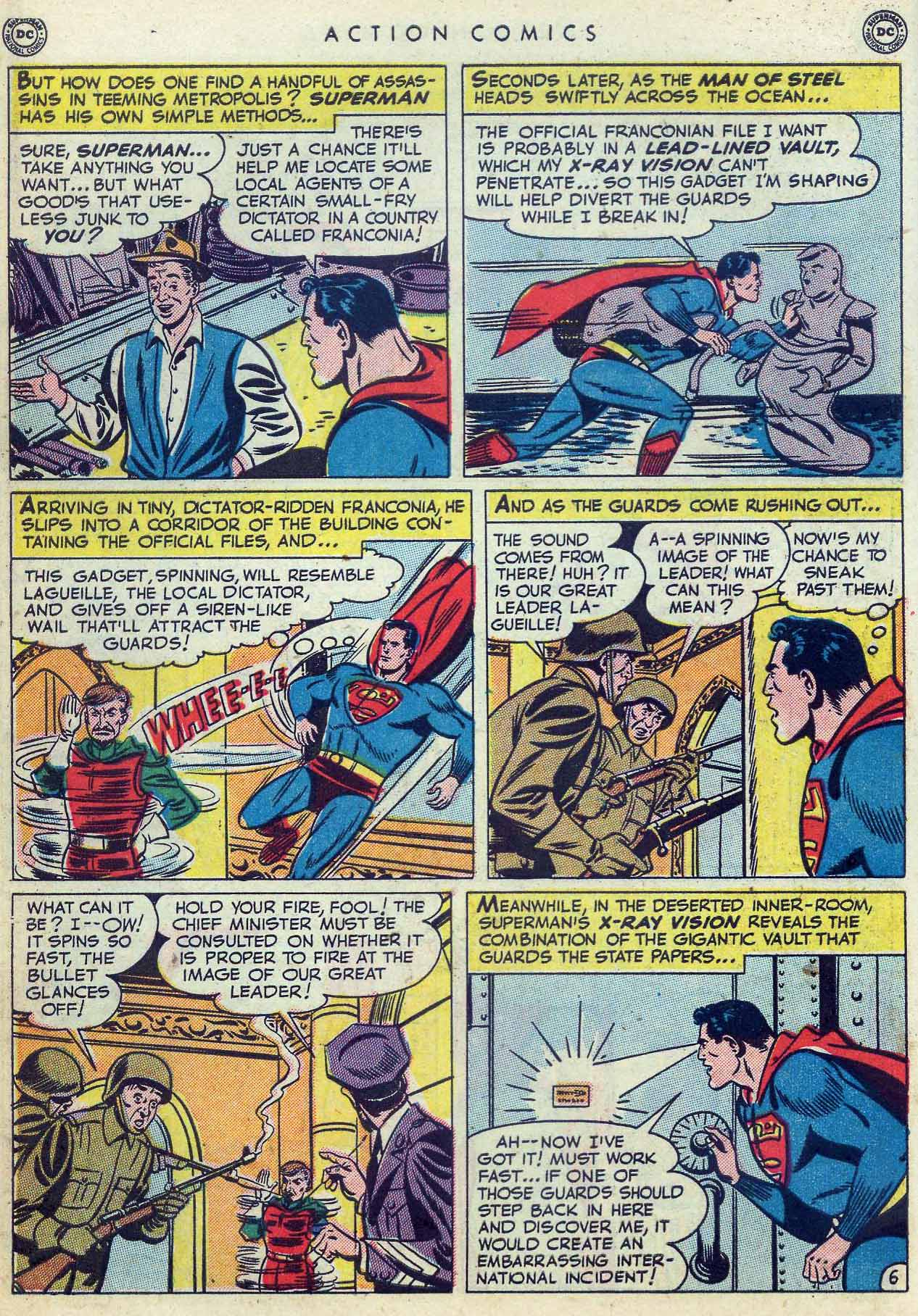 Read online Action Comics (1938) comic -  Issue #155 - 8