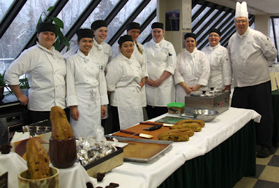 Chef Vern with UAA culinary arts students