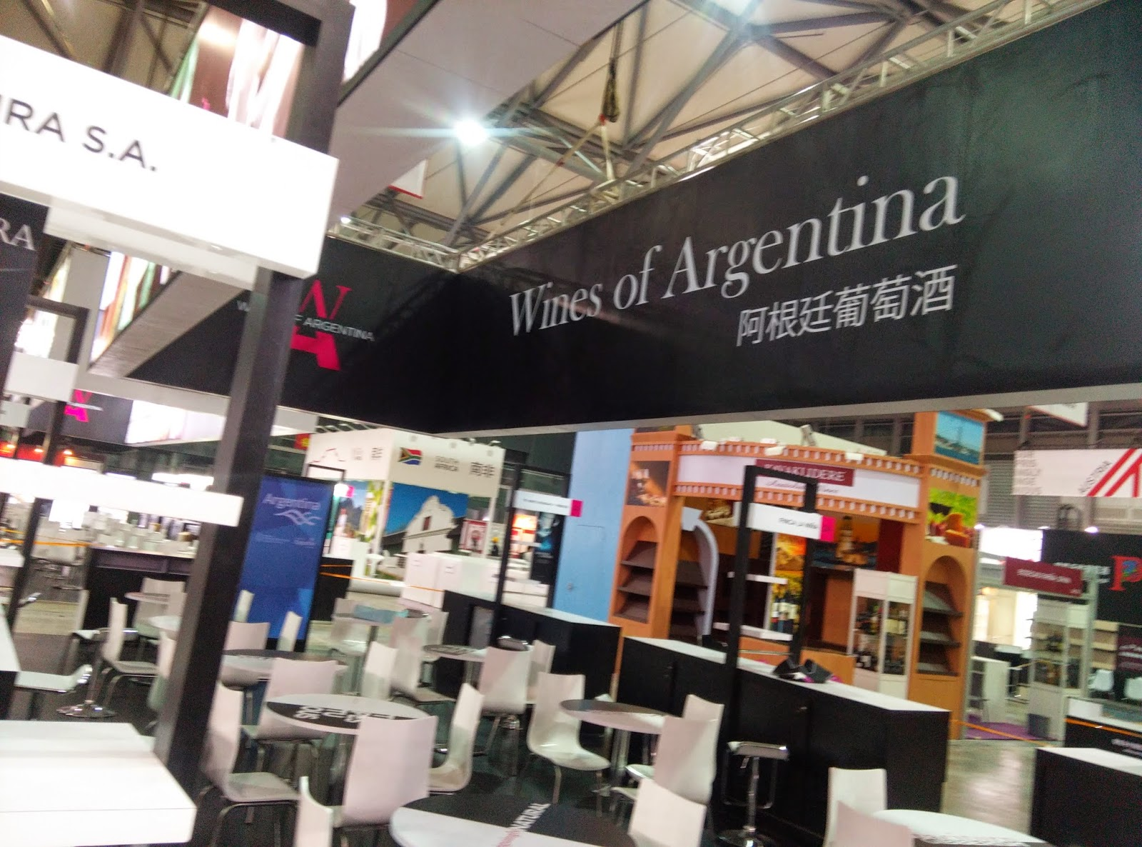 Exhibition Stand Builders China : China international food exhibition and wine