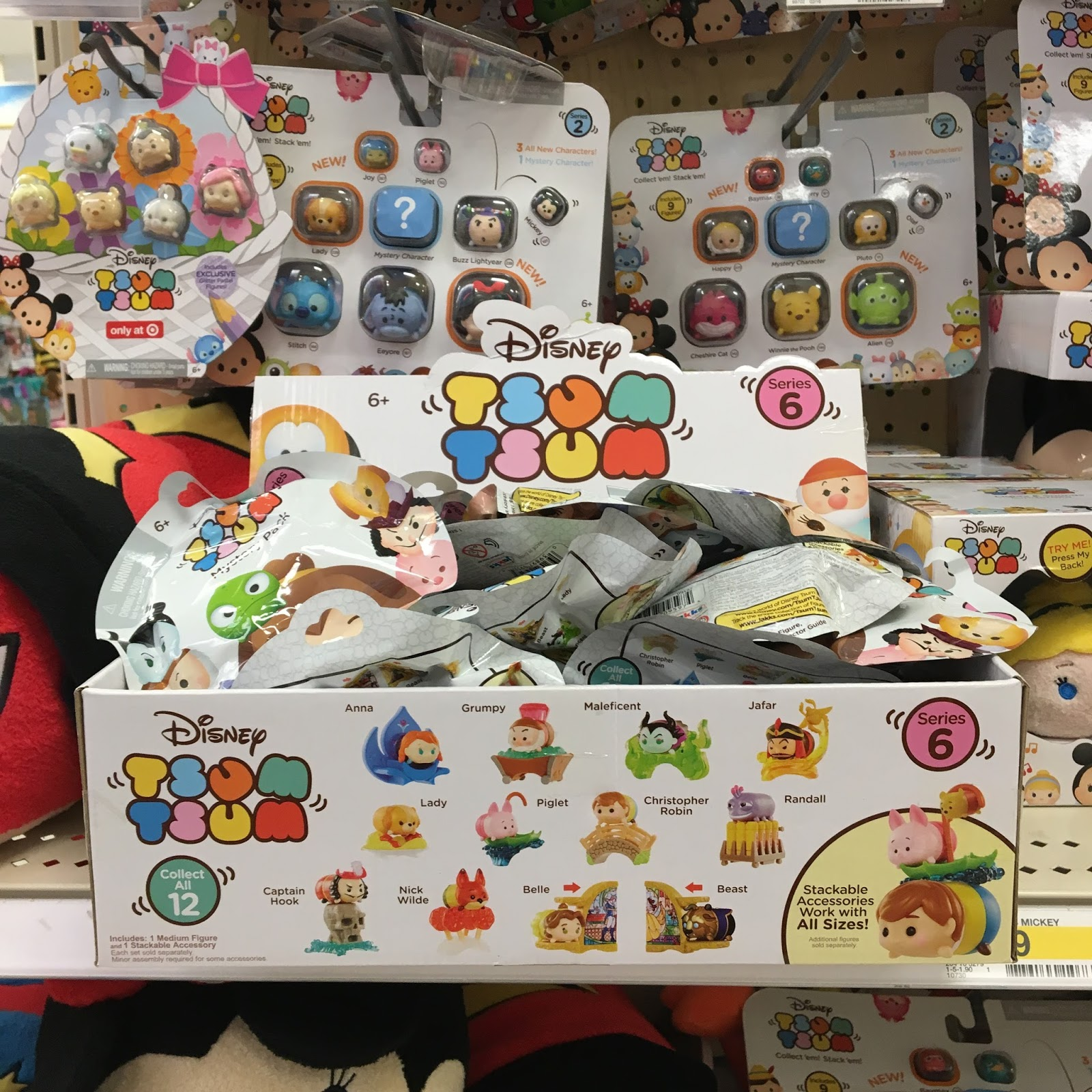 disney tsum tsum mystery stack pack series 6