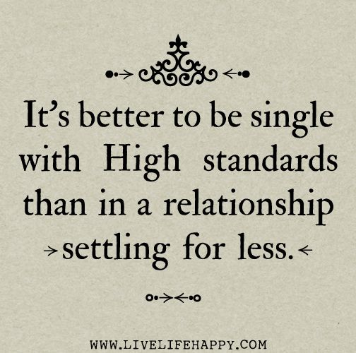 settle for less quotes on relationship ending