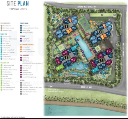 Lake Grande Site Plan