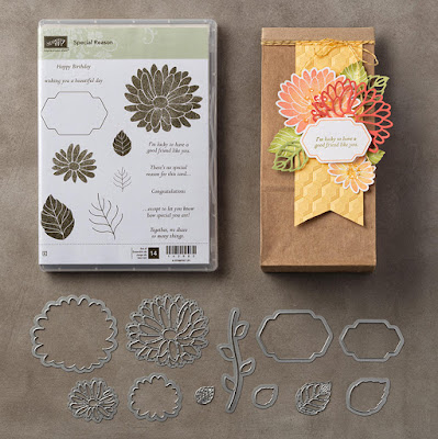 Stampin' Up! UK Independent Demonstrator Susan Simpson, Craftyduckydoodah!, Special Reason, Stylish Stems Framelits Dies, Supplies available 24/7,