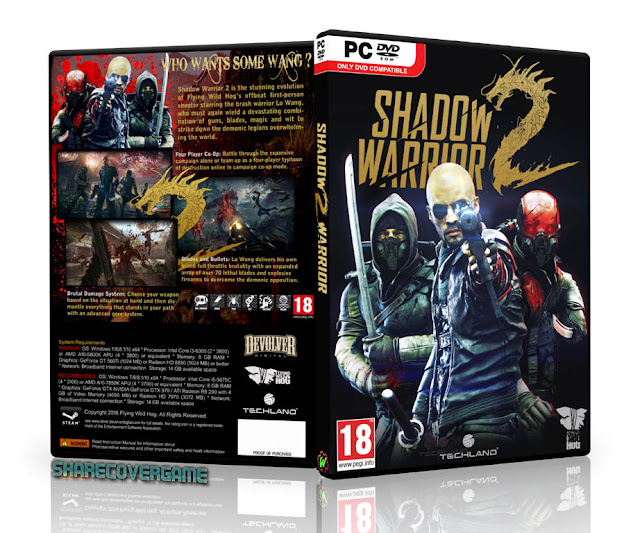 Shadow Warrior 2 Cover Box
