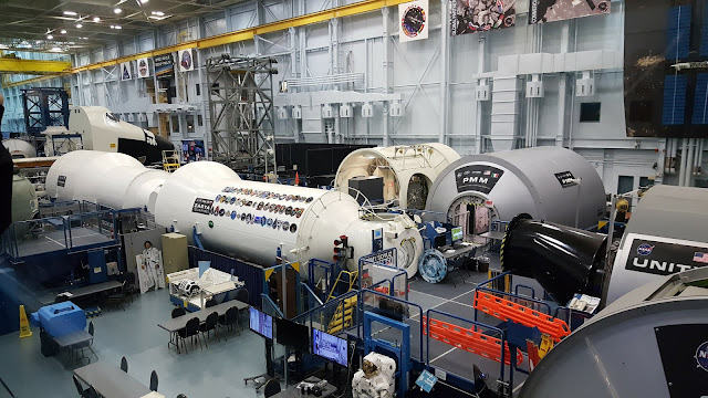 Building 9 - Vehicle Mock-up Facility - Space Center Houston