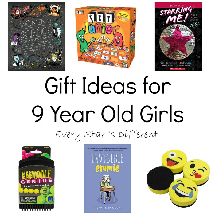 Gift Ideas for 9 Year Old Girls