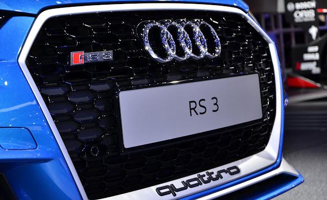 Rejilla distintiva de Audi