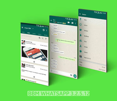 BBM tema Whatsapp terbaru 2017