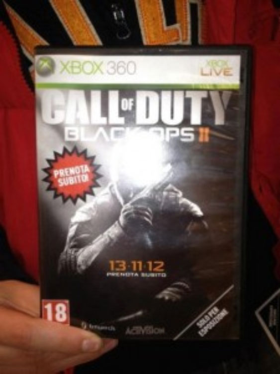 Call of Duty Black Ops 2 Box Art Leaked