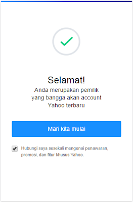 Daftar Yahoo Mail Indonesia  | Cara Membuat Akun Email Yahoo