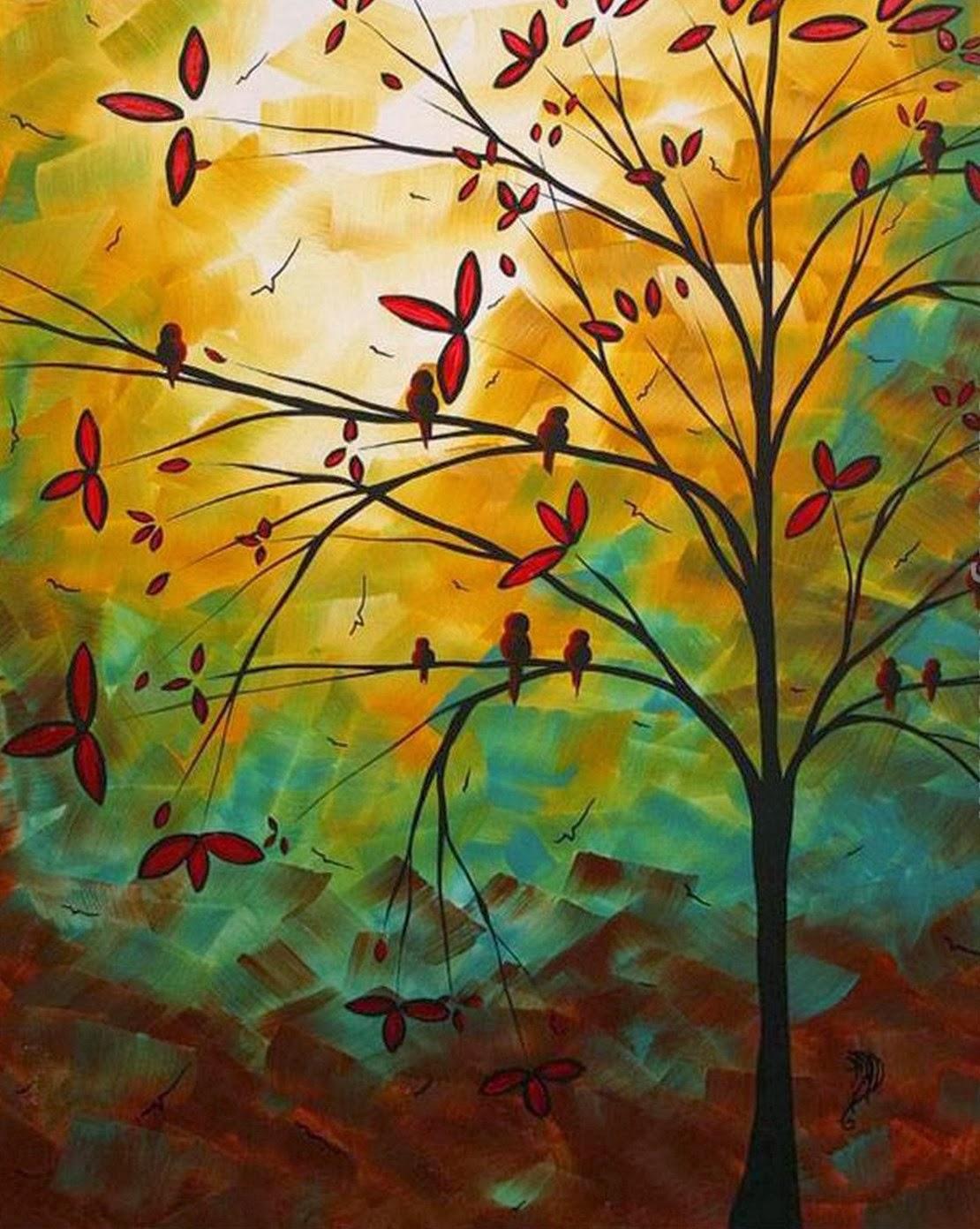 Cuadros modernos pinturas y dibujos abstractos - Cuadros abstractos paso a paso ...