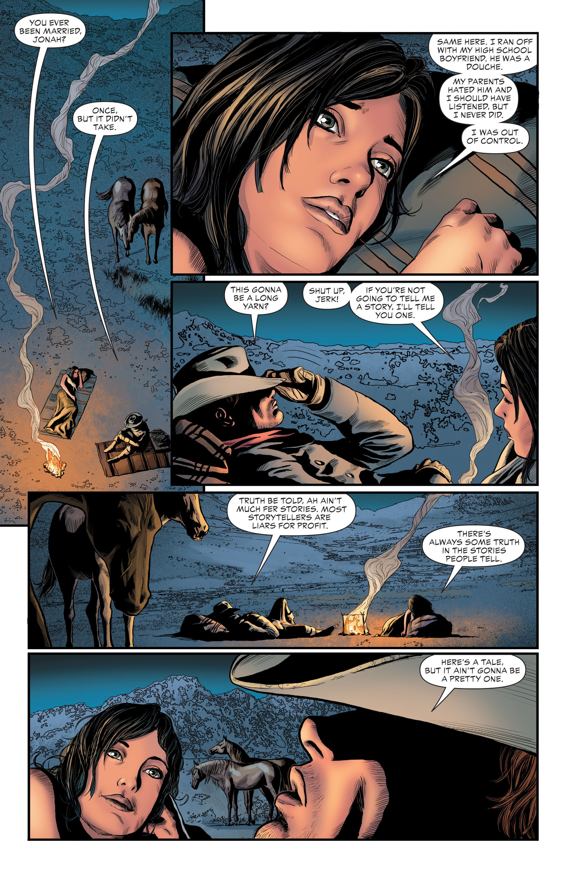 Read online All-Star Western (2011) comic -  Issue #29 - 7