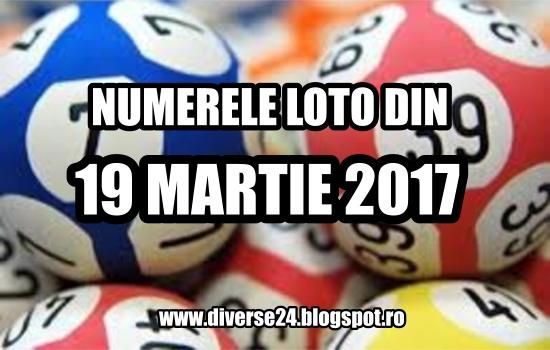 Numerele extrase la tragerile loto din 19 martie 2017