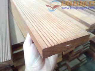 Harga lantai kayu untuk halaman atau outdoor ulin kalimantan