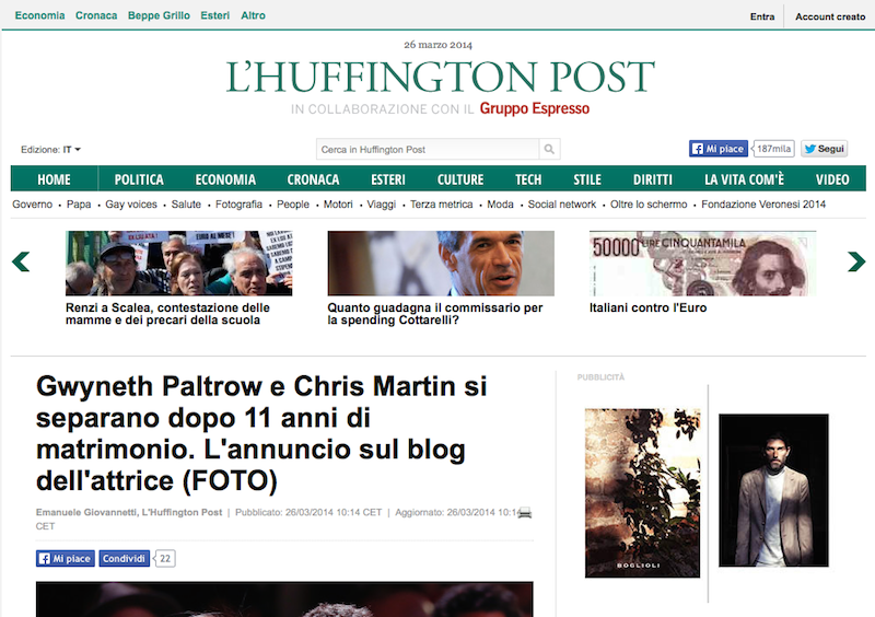 Ho provato online dating Huffington Post