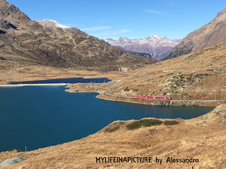 Mylifeinapicture, valle Engadina,trenino rosso,Bernina Express