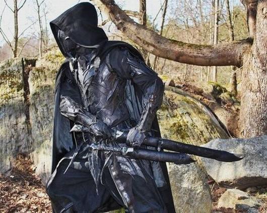 Dark Elf Costume Mmorp Game Online Cosplay Benda Unik