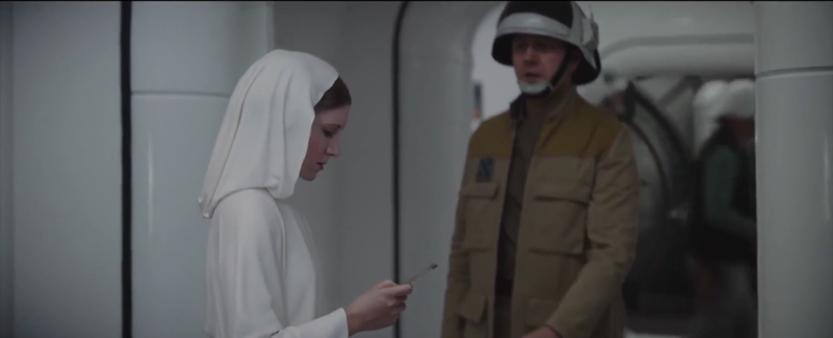Digital Princess Leia