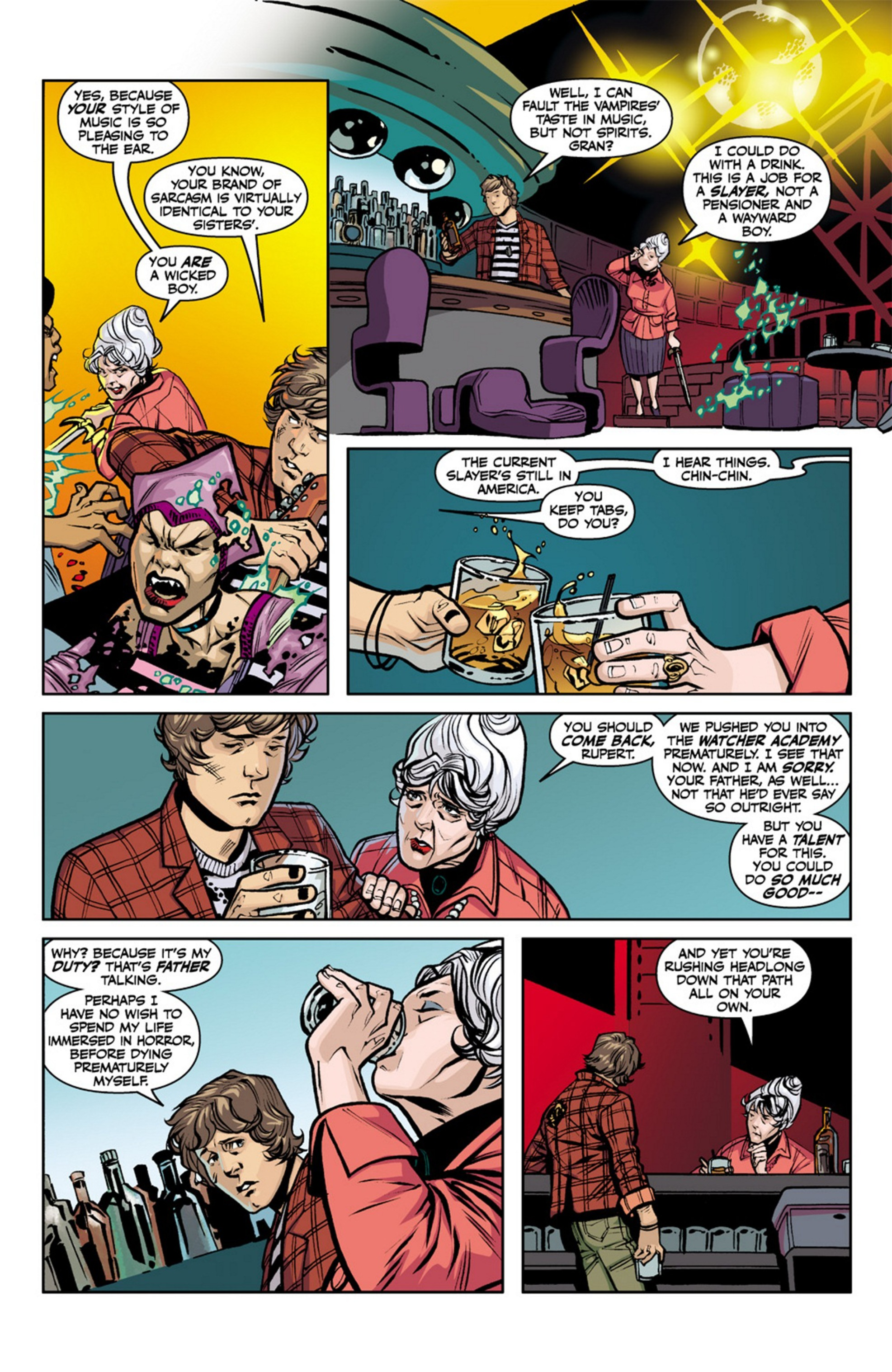 Read online Angel and Faith comic -  Issue #19 - 5