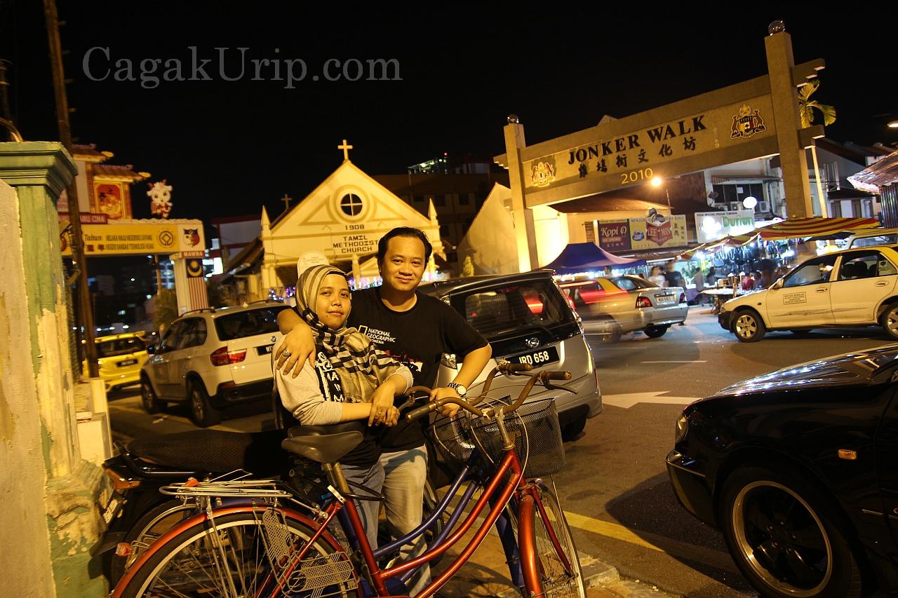 Kencan naik sepeda di Jonker Walk
