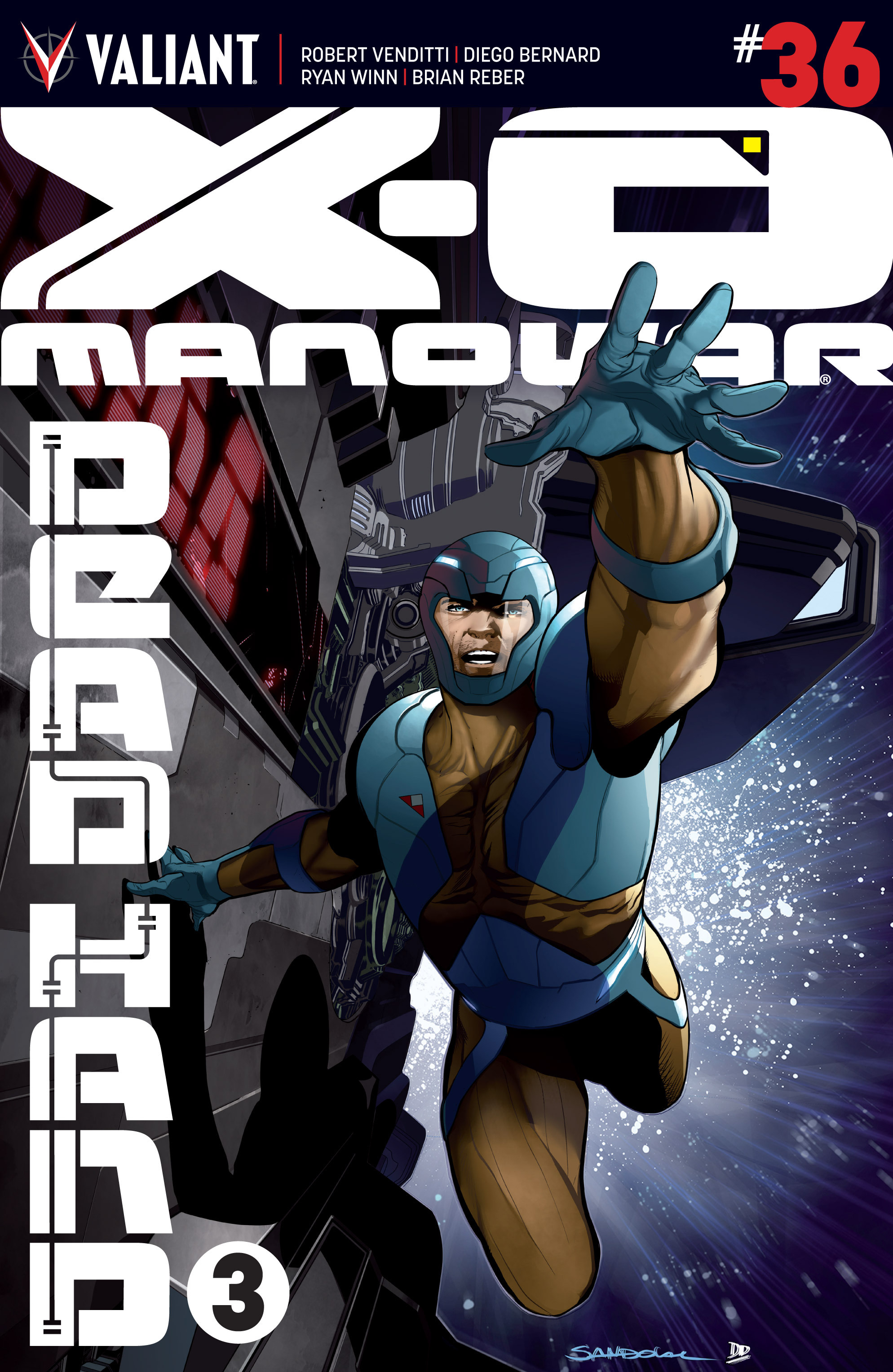 X-O Manowar (2012) 36 Page 1