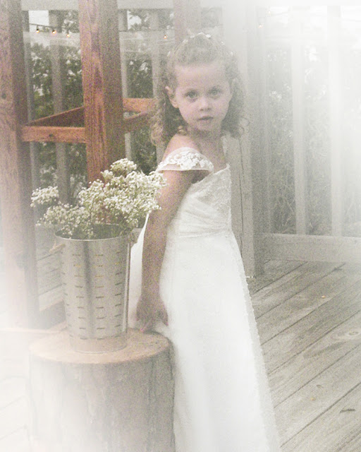 Peyton the Flowergirl