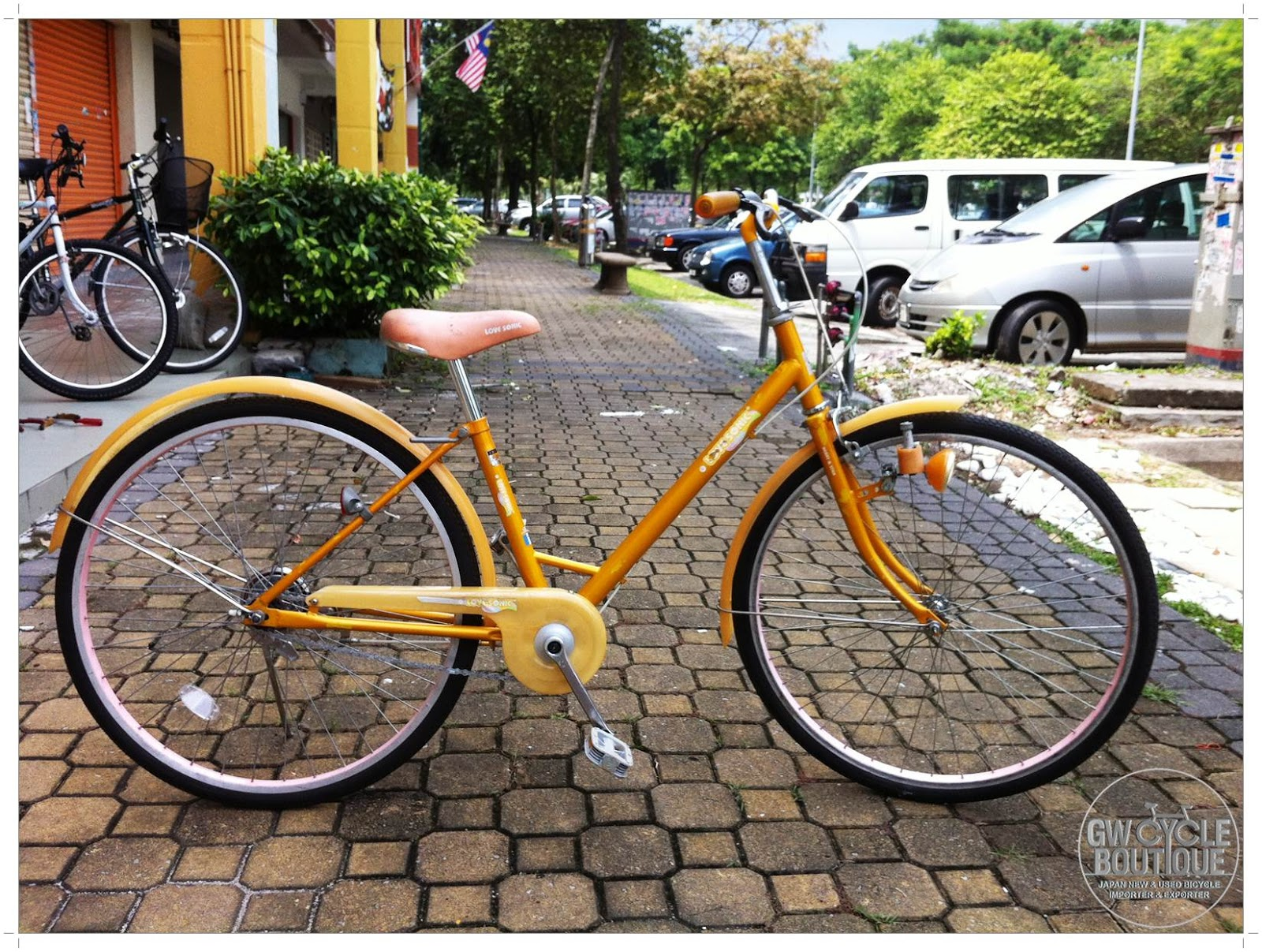 """GW Cycle Boutique: 26"""" Japan Preloved Classic City Bicycle ..."""