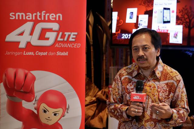 Layanan 4G LTE Advanced dari Smartfren