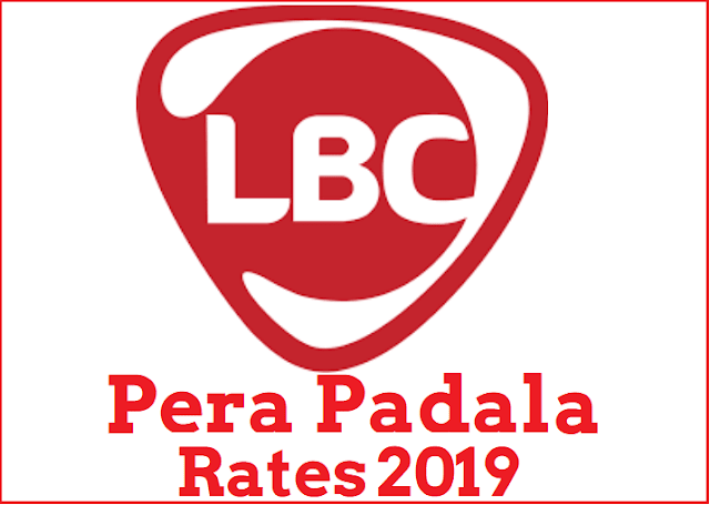Complete List of LBC Pera Padala Rates for 2019