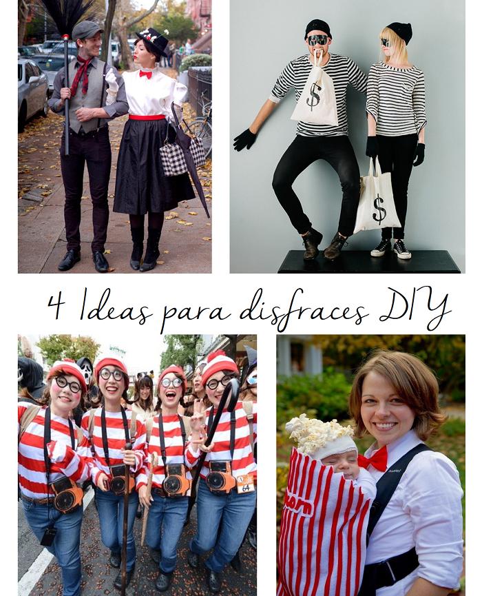 4 ideas para disfraces D.I.Y.