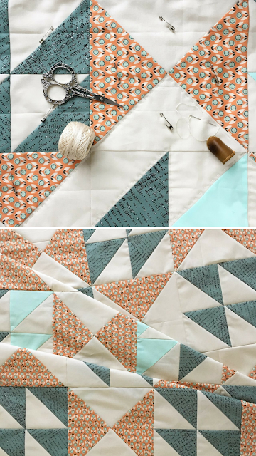 Pink Lemonade Quilted by Tiffany Horn of Village Bound Quilts | Pattern by Shannon Fraser Designs