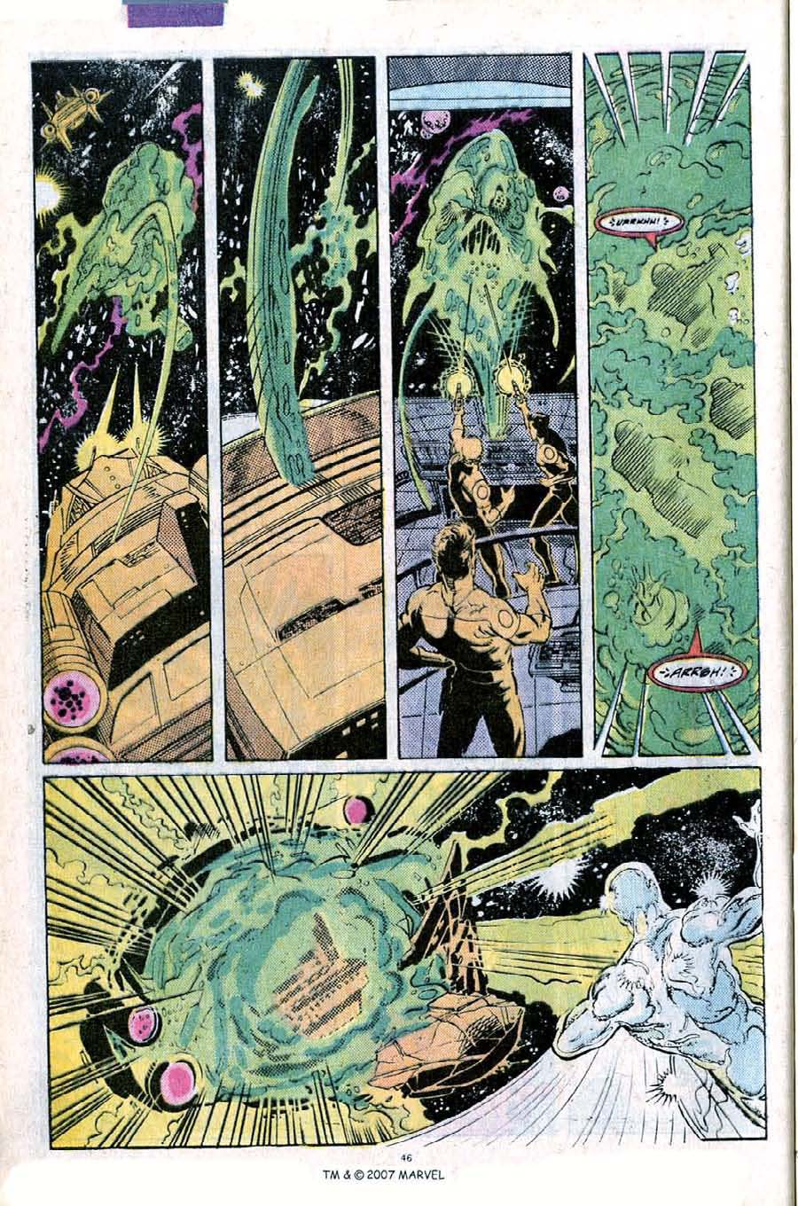 Read online Silver Surfer (1987) comic -  Issue #25 - 48
