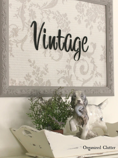 Thrifted FRAME IDEAS for Holidays, Gardens & the Home www.organizedclutter.net