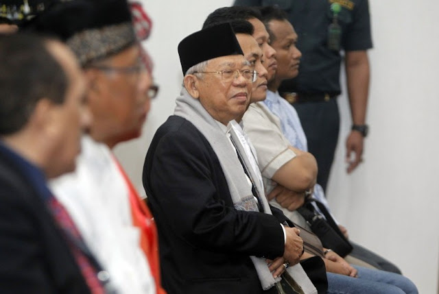Ahok Ancam Proses Hukum Ketua MUI KH Ma'ruf Amin