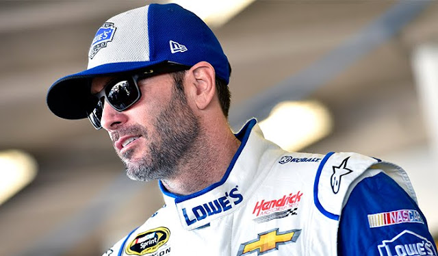 Jimmie Johnson will race in his backup car during Sunday's Daytona 500